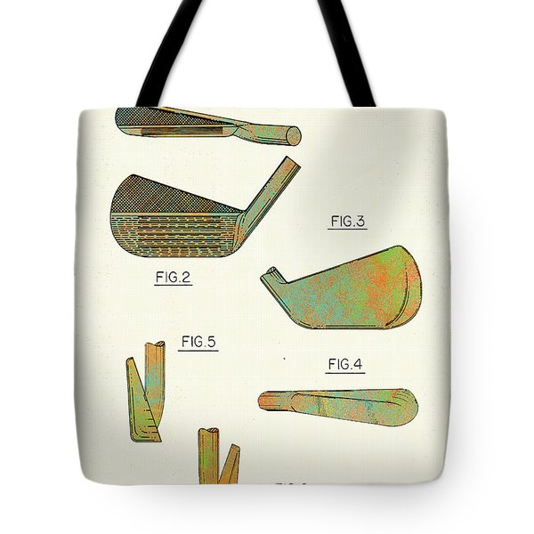 Golf Club Patent-1989 Tote Bag