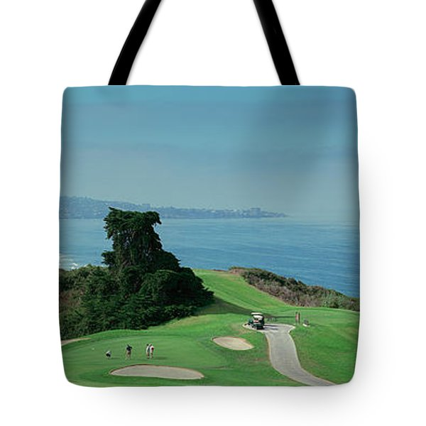 Golf Course At The Coast, Torrey Pines Tote Bag