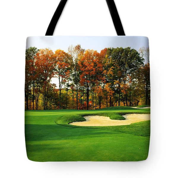 Golf Course, Great Bear Golf Club Tote Bag