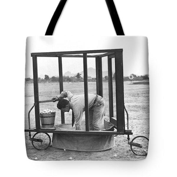 Golf Driving Range Safety Cart Tote Bag