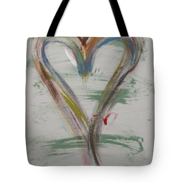 Golf Heart Tote Bag
