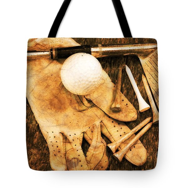 Golf Memorabilia Tote Bag by Charline Xia