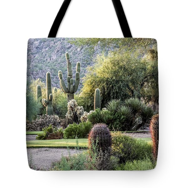 Golf Paradise Tote Bag