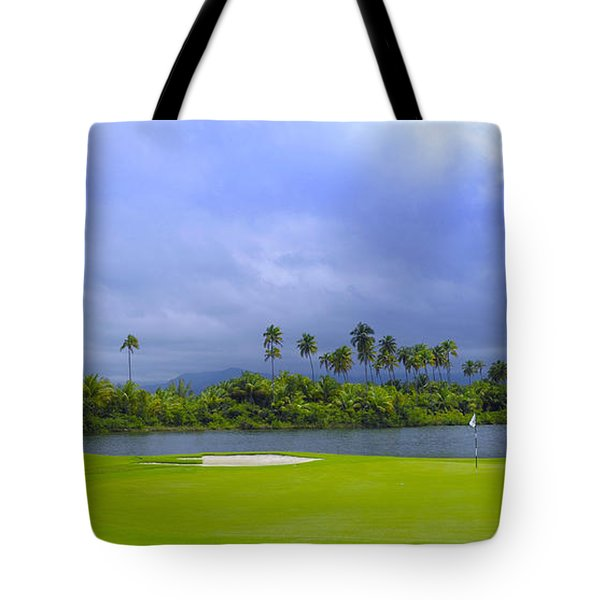 Golfer's Paradise Tote Bag