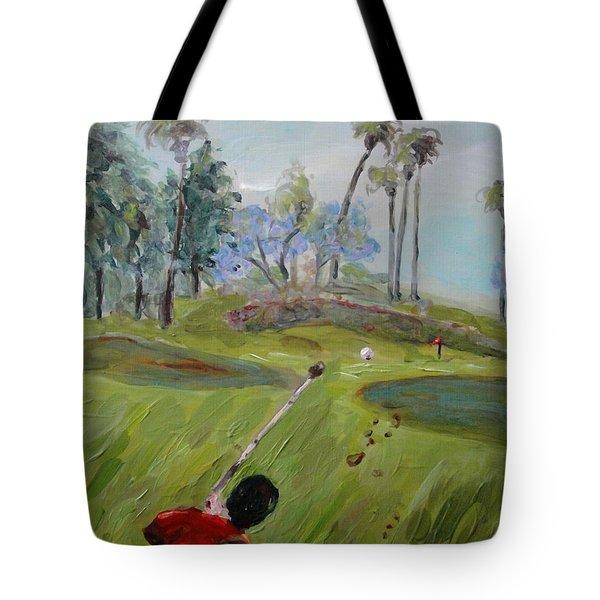 Golfing At Monarch Tote Bag