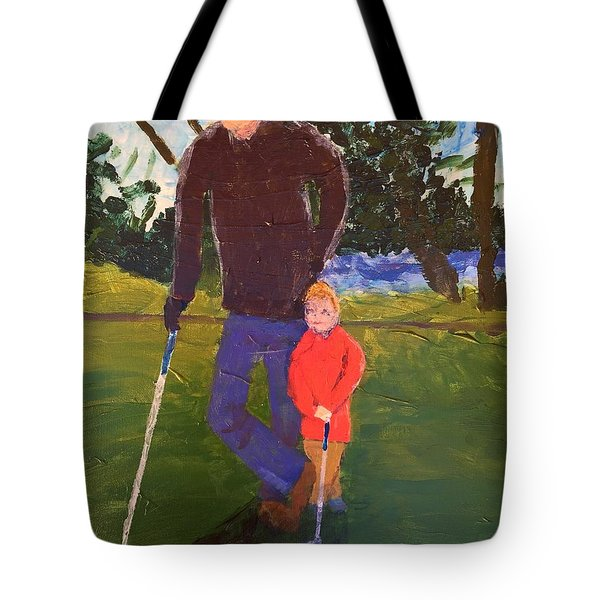 Golfing Tote Bag by Donald J Ryker III