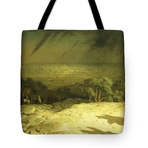 Golgotha Tote Bag by Jean Leon Gerome