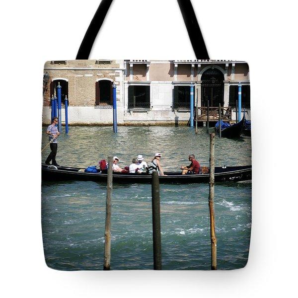 Gondola Jaunt Tote Bag