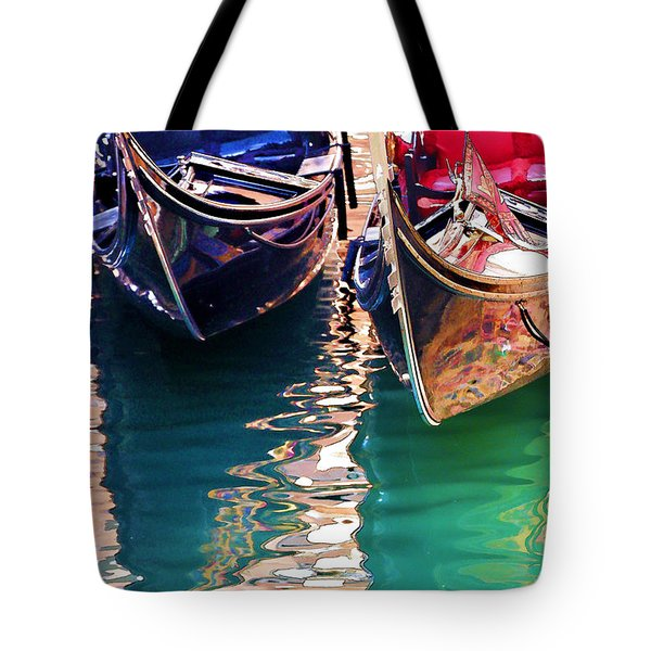 Gondola Love Tote Bag by Brian Davis