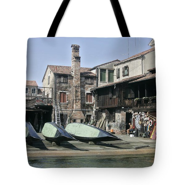 Gondola Showroom Tote Bag