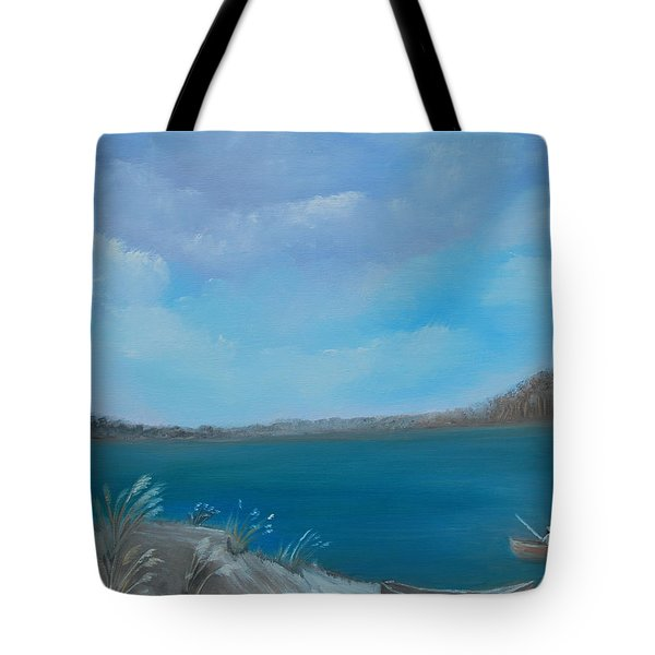 Gone Fishin Tote Bag