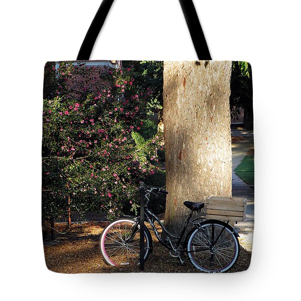 Tote Bag featuring the photograph Gone To Class by Greg Simmons