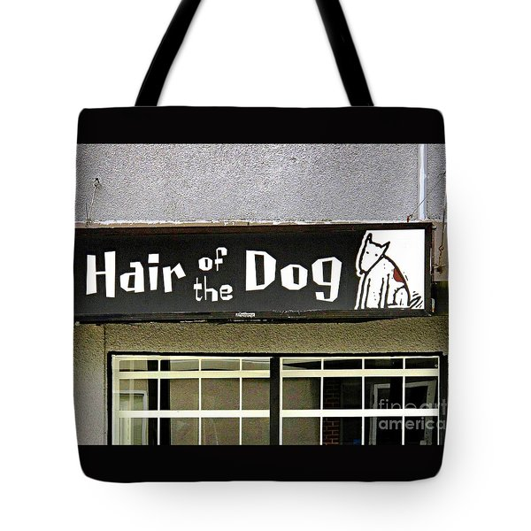 Gone To The Dogs Tote Bag