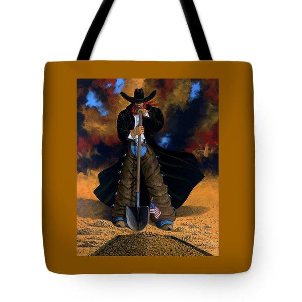 Gone Too Soon Tote Bag by Lance Headlee