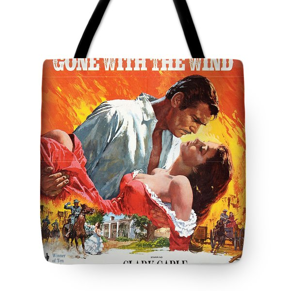 Gone With The Wind - 1939 Tote Bag