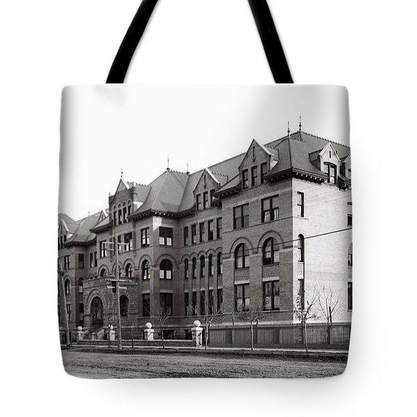 Gonzaga College Spokane 1900 Tote Bag by Daniel Hagerman