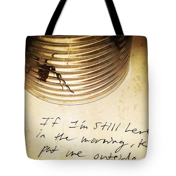 Good Advice - Spider Art By Sharon Cummings Tote Bag