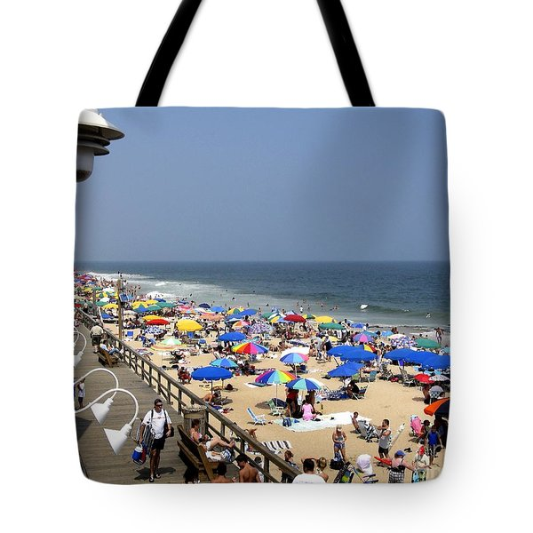 Good Beach Day At Bethany Beach In Delaware Tote Bag
