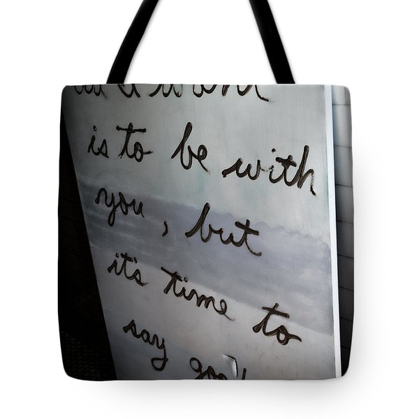 Good-bye Tote Bag