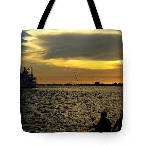 Good Day Fishing Tote Bag
