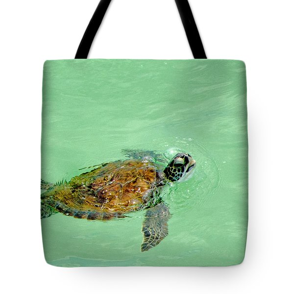 Tote Bag featuring the photograph Good Day For A Swim  by Susan  McMenamin