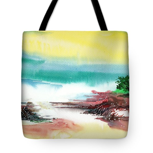 Good Evening Tote Bag by Anil Nene