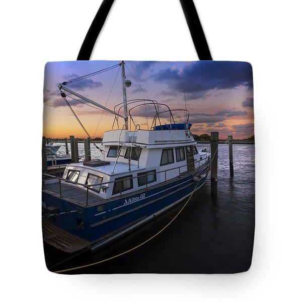 Good Fishing Tote Bag by Debra and Dave Vanderlaan