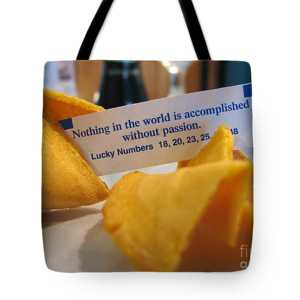 Good Fortune Tote Bag by Peggy Hughes