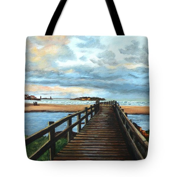 Good Harbor Beach Gloucester Tote Bag