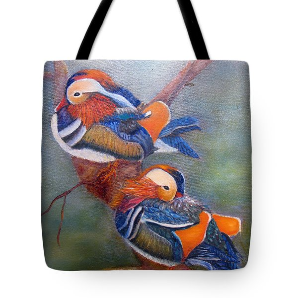Good Luck Mandarins Tote Bag