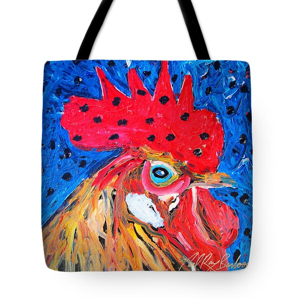 Good Luck Rooster Tote Bag