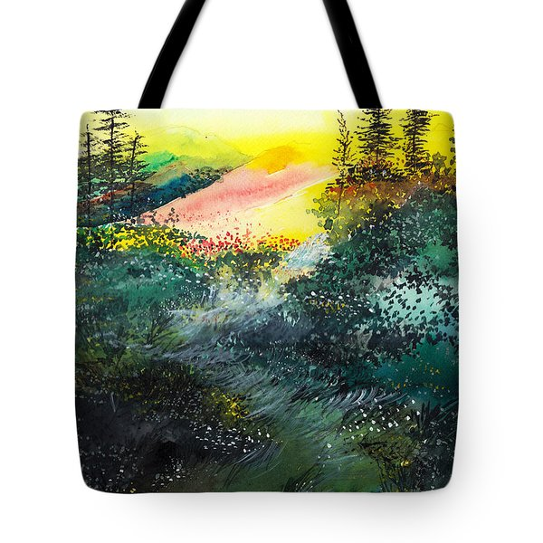 Good Morning 3 Tote Bag by Anil Nene
