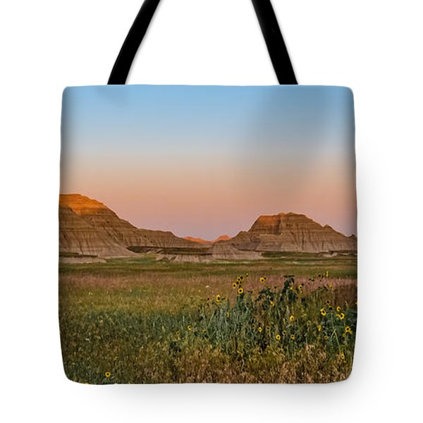 Tote Bag featuring the photograph Good Morning Badlands II by Patti Deters