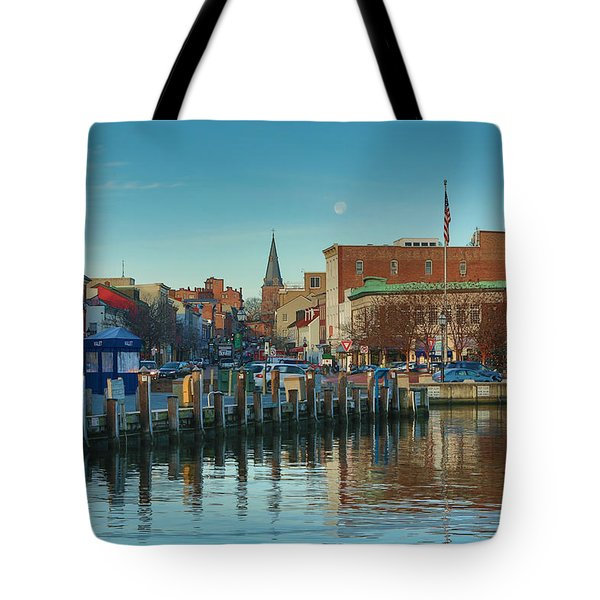 Tote Bag featuring the photograph Good Morning Downtown by Jennifer Casey