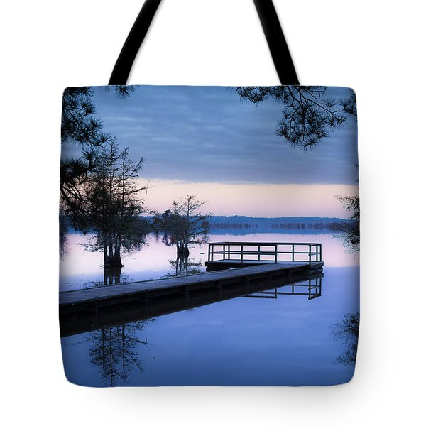 Good Morning For Fishing Tote Bag