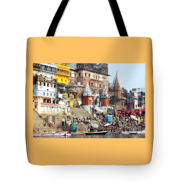 Good Morning Ganga Ji 2 Tote Bag