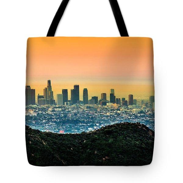Good Morning La Tote Bag