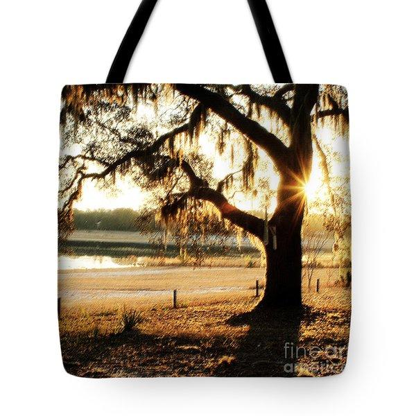 Good Morning Mossy Oak Tote Bag