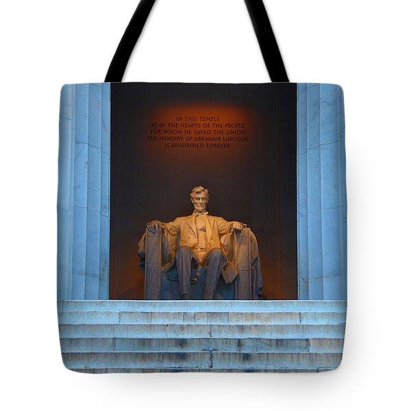 Good Morning Mr. Lincoln Tote Bag