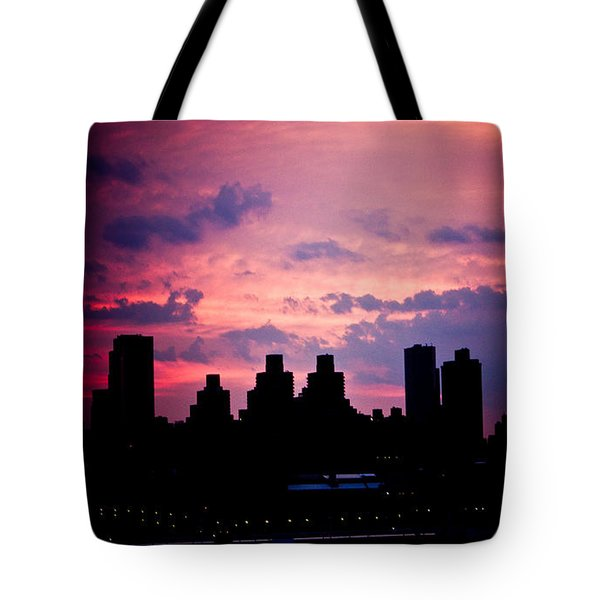 Tote Bag featuring the photograph Good Morning New York by Sara Frank