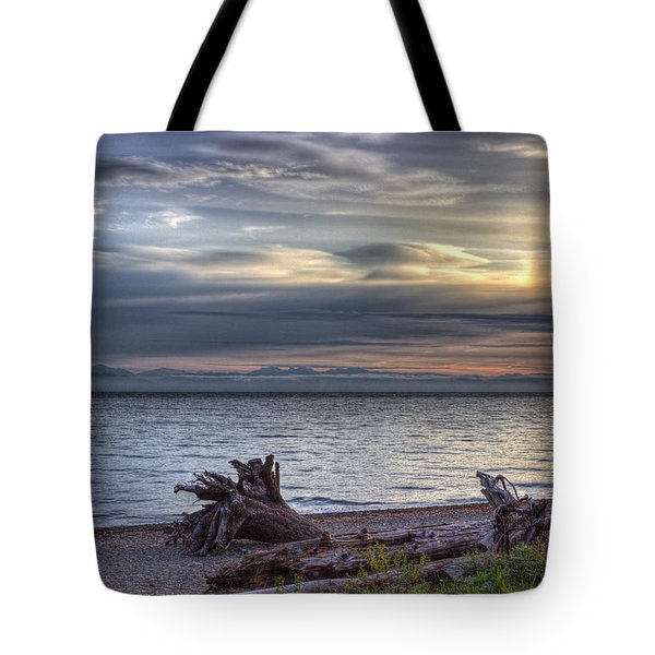 San Pareil Sunrise Tote Bag by Randy Hall