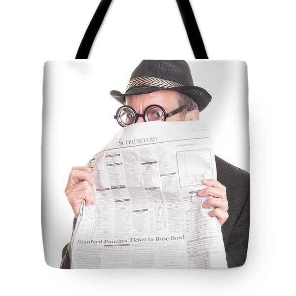 Good News Tote Bag by Edward Fielding