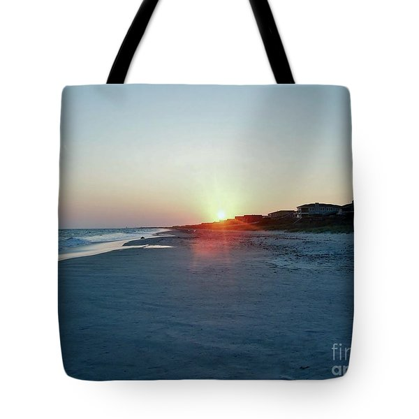 Tote Bag featuring the photograph Good Night Day by Roberta Byram