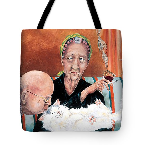 Good Night Kiss Tote Bag