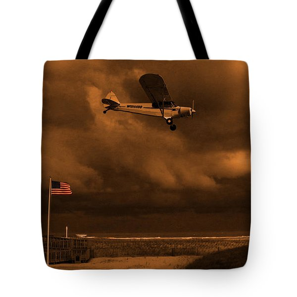 Good Night Wildwood Beach Tote Bag