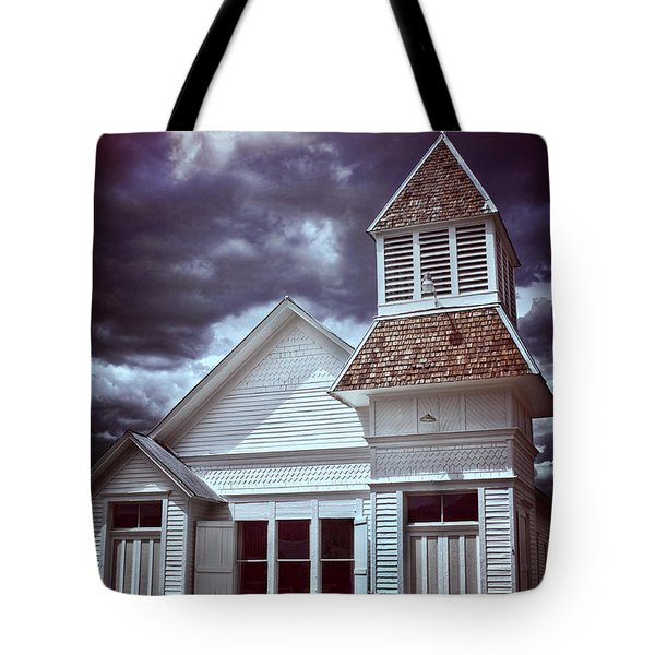 Good Vs Evil Tote Bag by Ellen Heaverlo