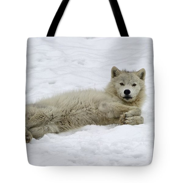 Good Wolfie ... Tote Bag