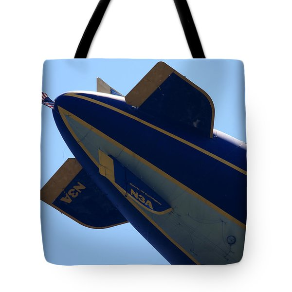 Good Year Blimp N3a Tote Bag