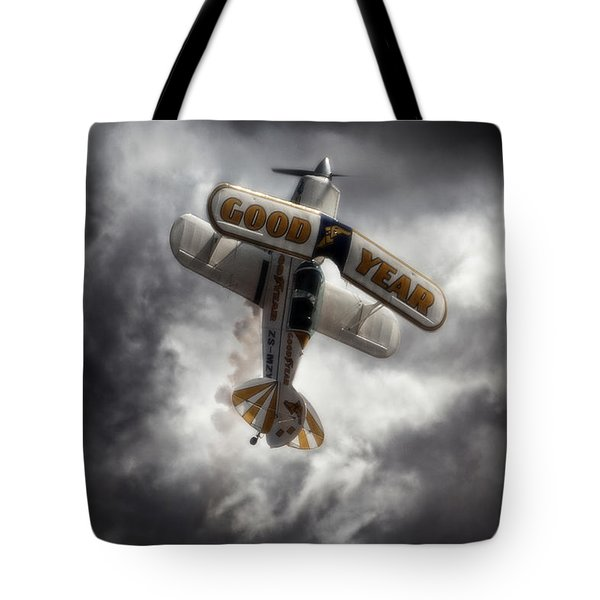 Tote Bag featuring the photograph Good Year Cloud by Paul Job