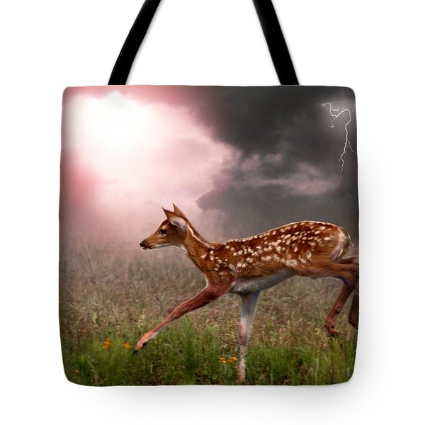 Goodbye Bambi Tote Bag by Bill Stephens